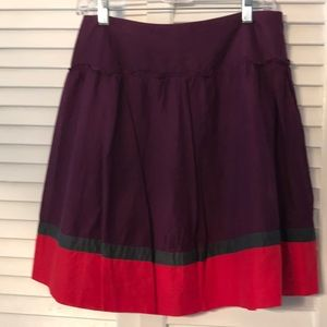 The Limited  skirt with Brilliant Colors.